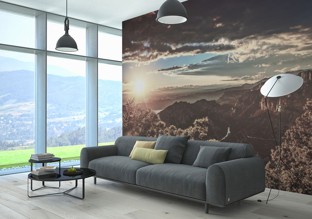 Custom Printed Wallpaper for Residential Use